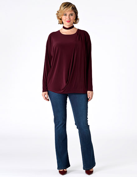 Curvy Women's Clothing Early Fall